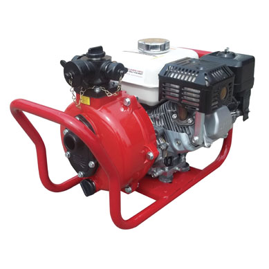 [P-7643] Fire Pump 6hp - Manual Start - Twin Outlets - CET