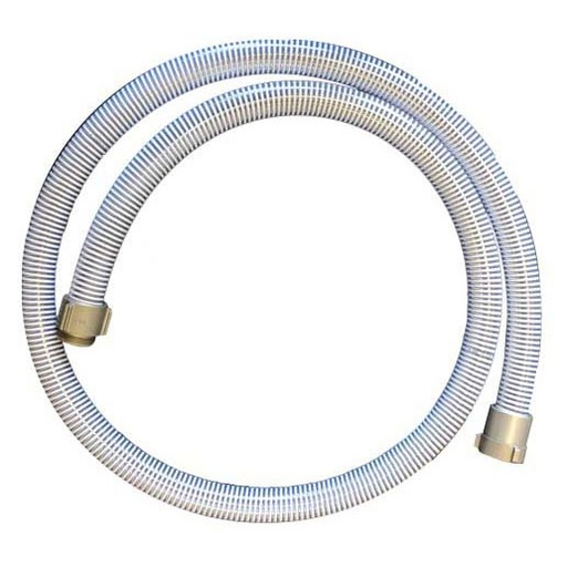 "Suction Hose Custom Length PVC - 38mm (1.5"")"